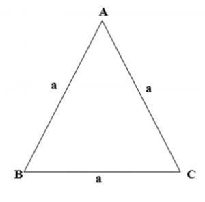Cách tính chu vi hình tam giác thường