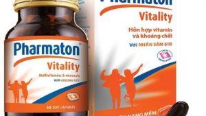 thuốc pharmaton có tác dụng gì