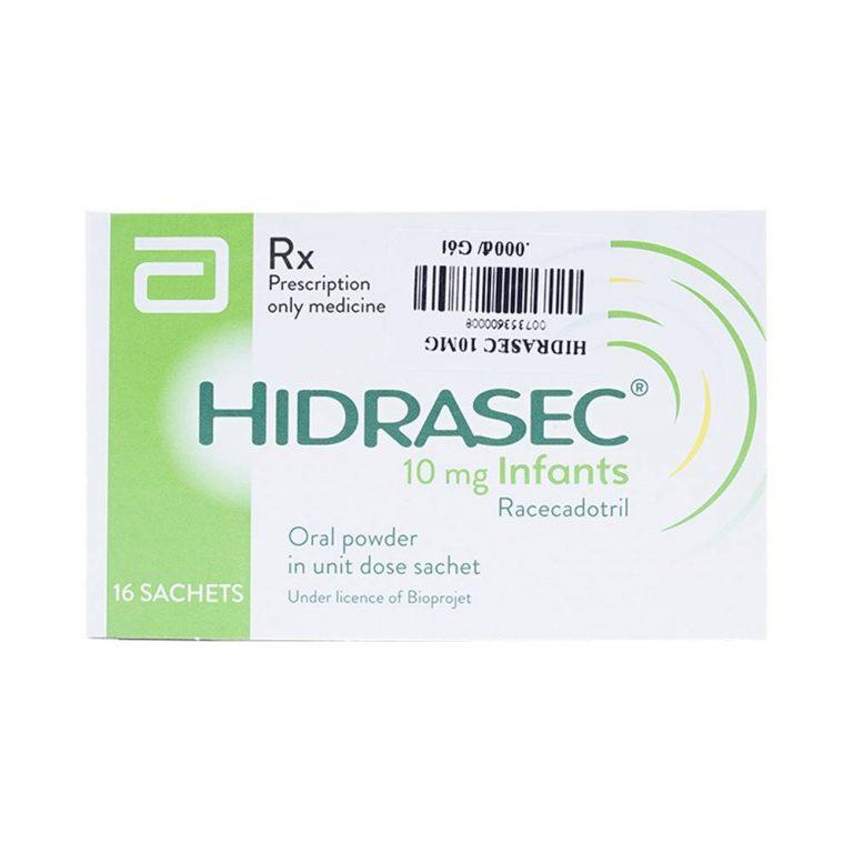 Những lưu ý và công dụng khi dùng thuốc hidrasec 10mg