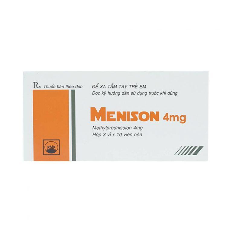 Sử dụng thuốc Menison 4mg cần lưu ý những gì?