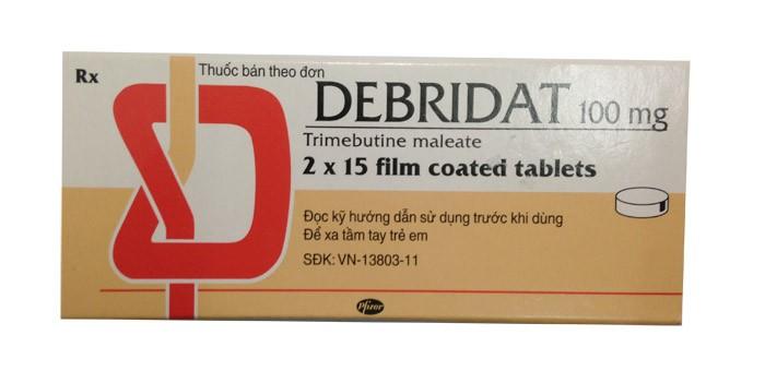 Debridat là thuốc gì, công dụng và liều dùng như thế nào?