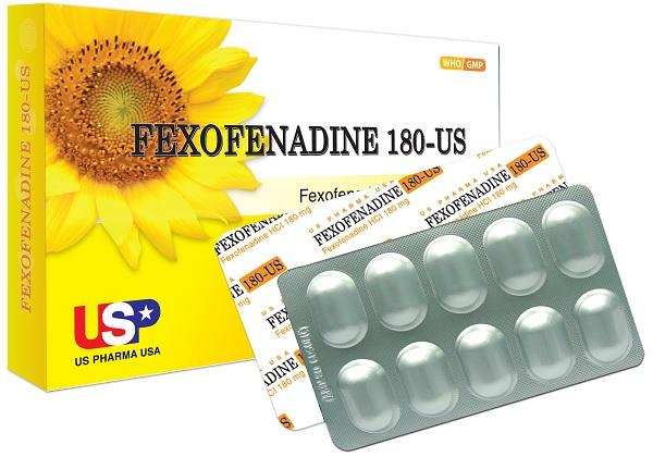 Thuốc Fexofenadine 180mg giá bao nhiêu, sử dụng như thế nào?