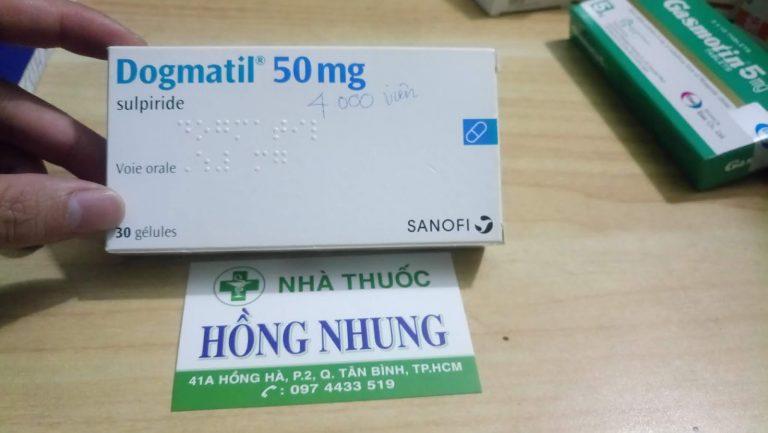 Thuốc dogmatil 50mg là thuốc gì? Công dụng và liều dùng hiệu quả nhất