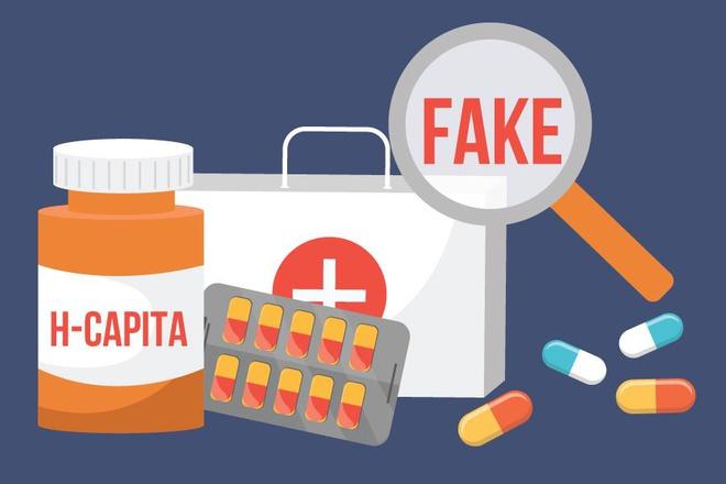 Thuốc h-capita là thuốc thật hay thuốc giả?