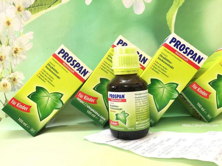 Tìm hiểu thuốc ho Prospan Đức công dùng và liều dùng chính xác