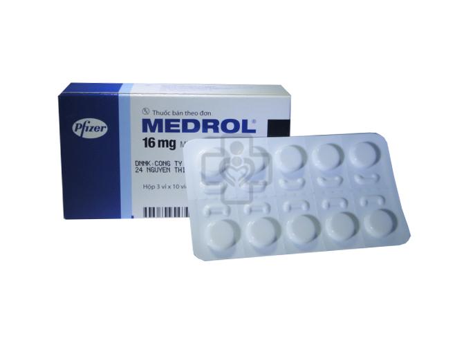 Thuốc Medrol có tác dụng gì?